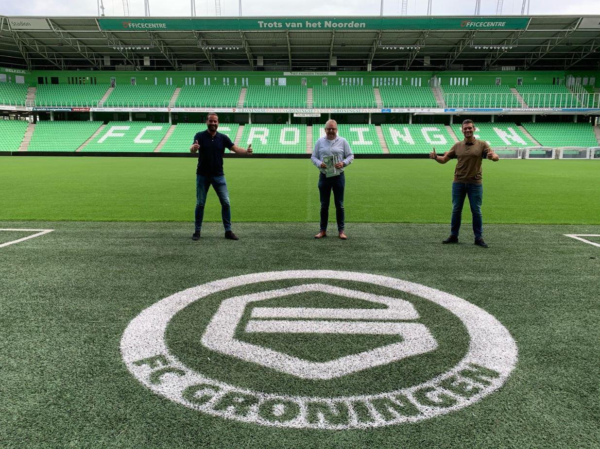 Sixton Peak official sponsor van FC Groningen afbeelding
